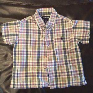 Ralph Lauren polo shirt size 6-12 months